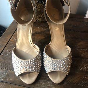 Aldo Rhinestone heels